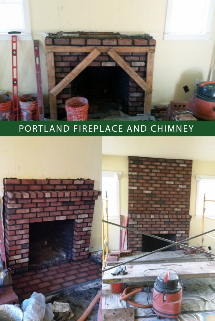 Chimney repair, fireplace repair