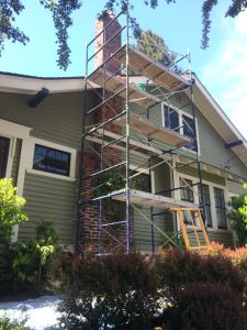 clinker brick portland chimney rebuild portland fireplace