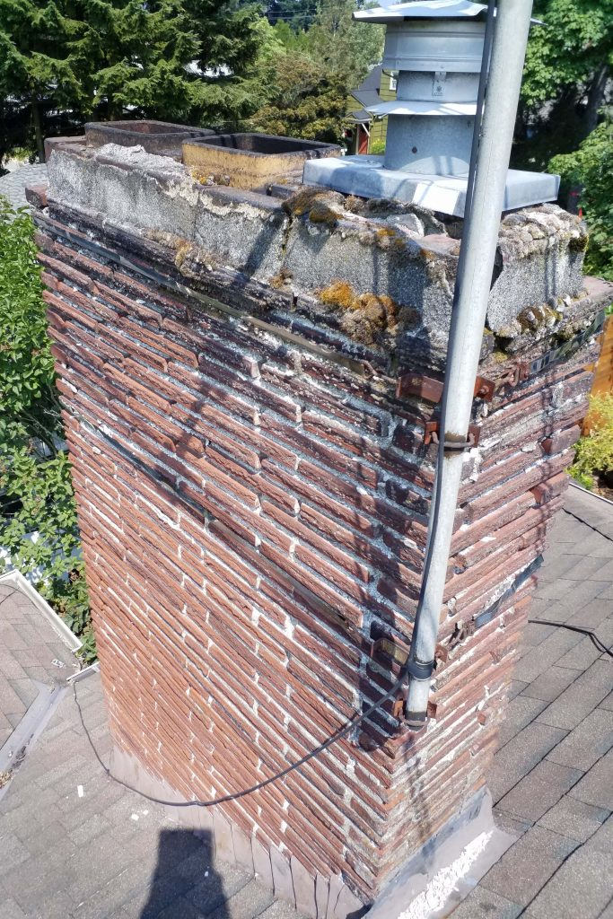 Chimney sweep chimney cleaning chimney repair fireplace brick portland