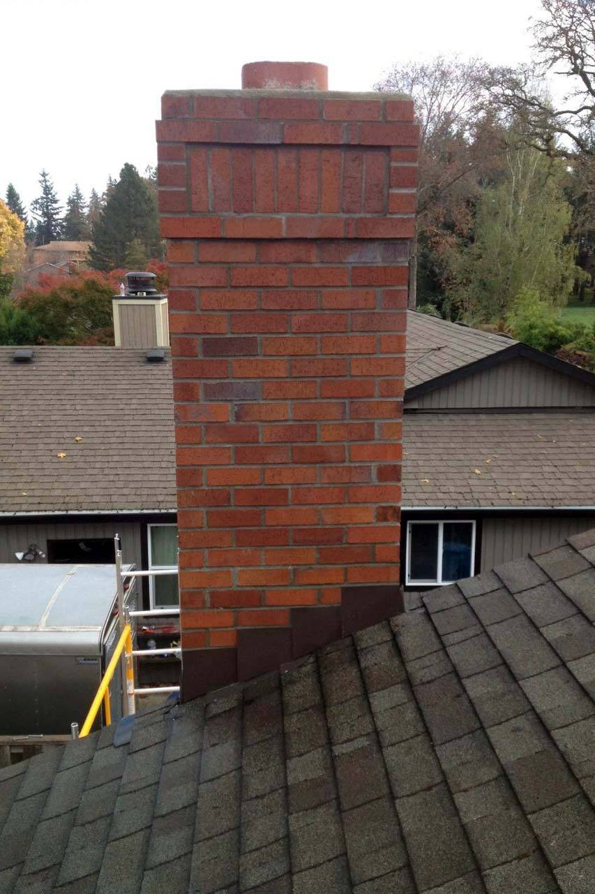 chimney sweep chimney repair chimney rebuild masonry portland oregon
