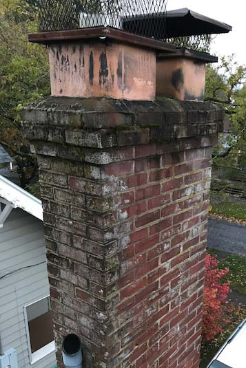 tuck pointing chimney repair chimney sweep