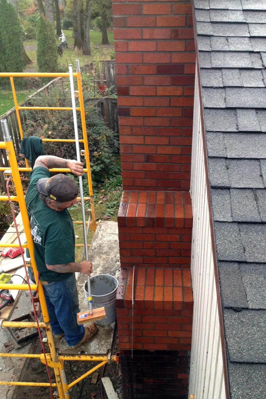 Se Portland Chimney Rebuild Portland Fireplace And Chimney