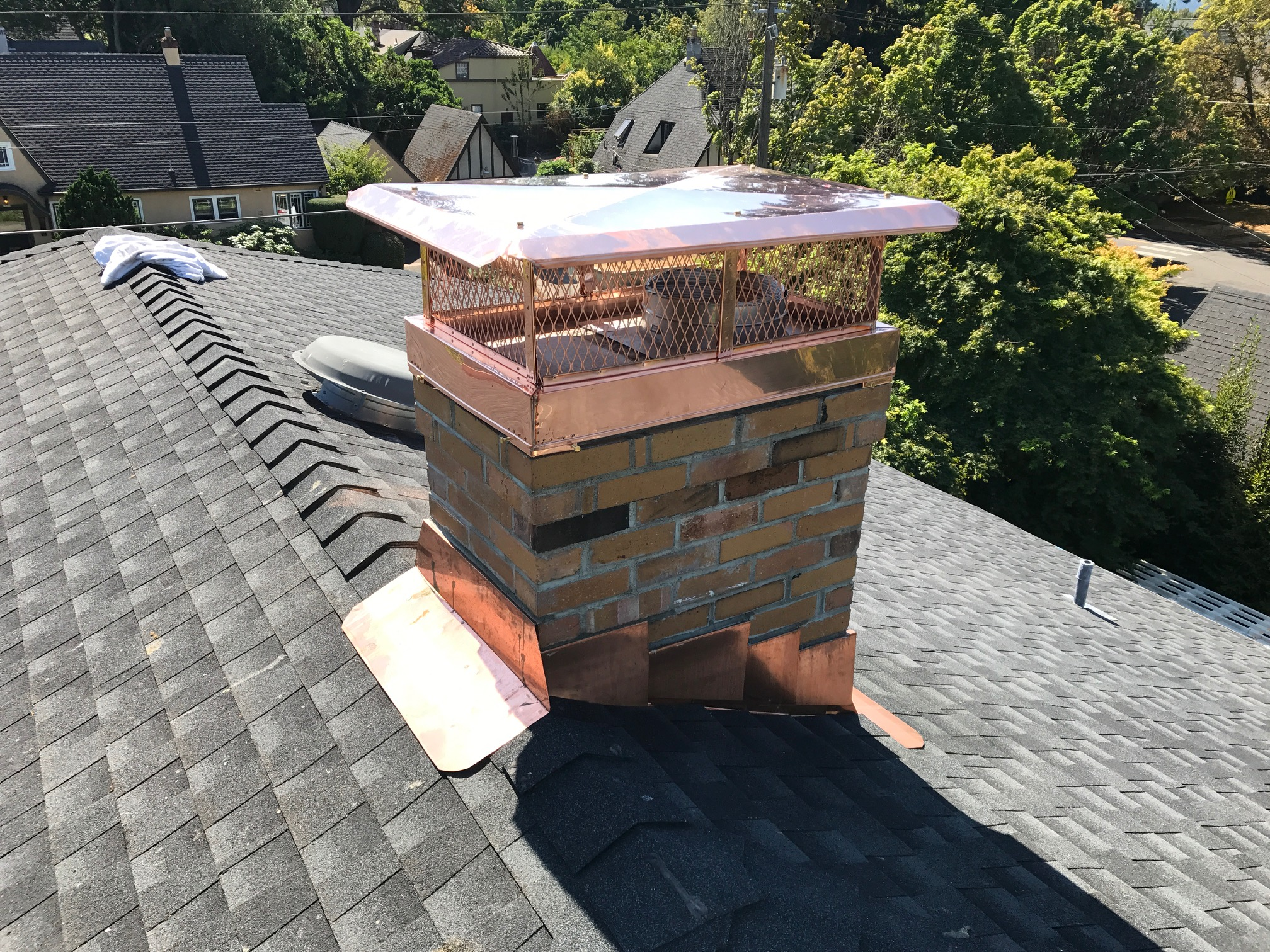 Chimney Caps Portland Fireplace And Chimney Inc